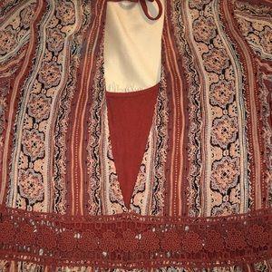 Bohemian Boho print dress